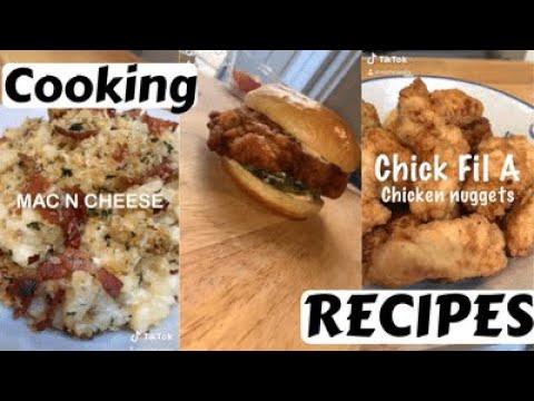 Tiktok Cooking Recipe Compilation Of Nishcooks Asmr Cooking Tiktok Youtube