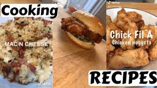 Tiktok Cooking Recipe Compilation of Nishcooks asmr cooking tiktok