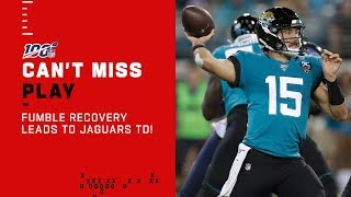 Gardner Minchews Up Titans Defense!