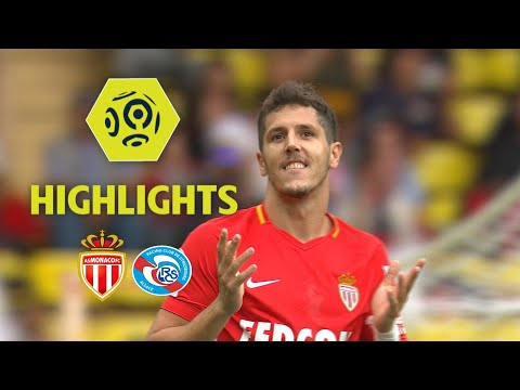 AS Monaco - RC Strasbourg Alsace (3-0) - Highlights - (ASM - RCSA) / 2017-18