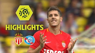 Видео AS Monaco - RC Strasbourg Alsace (3-0) - Highlights - (ASM - RCSA) / 2017-18 от Ligue 1 Conforama Official, Монако
