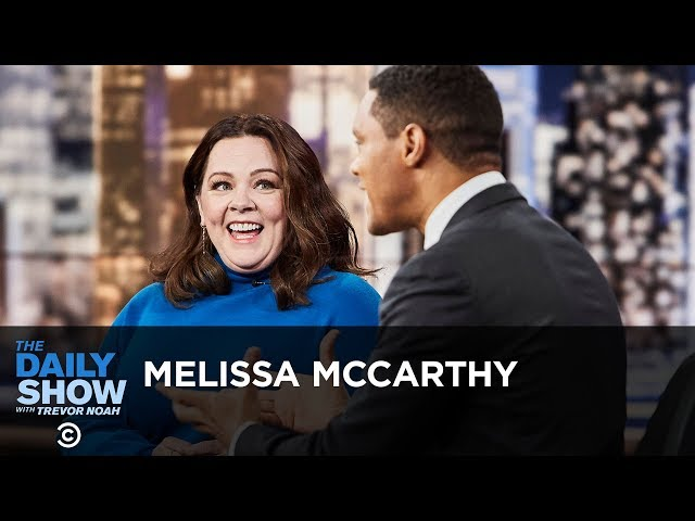 "Melissa McCarthy - Playing an Unlikable Character in ""Can You Ever Forgive Me?"" 