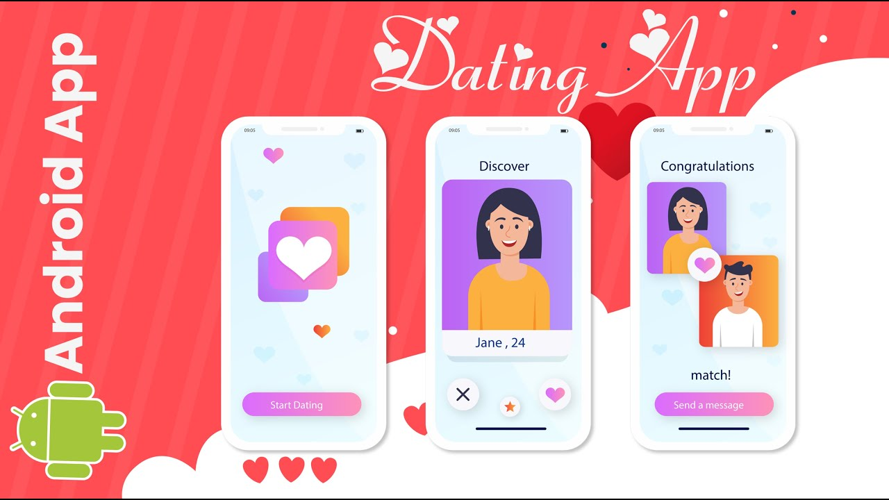 Android Dating App like Tinder with Source Code   Android Project with Source Code