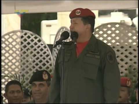 Presidente Hugo Chávez decide no renovar la concesión a RCTV, 28 de diciembre de 2006