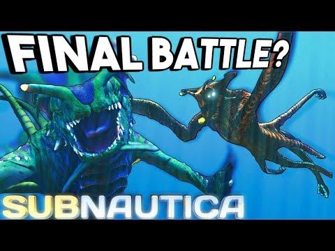 Subnautica - EPIC GUN UPDATE, SEA EMPEROR FIGHTS SEA DRAGON & GHOST LEVIATHAN, REAPER - Gameplay