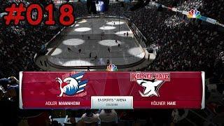 NHL 18 Season Mode (DEL) #018 [Deutsch/German] - Adler Mannheim