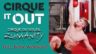 Full Body Gym Workout With Wayne Skivington From Zumanity | Cirque It Out #5 | Weekly Fitness Series