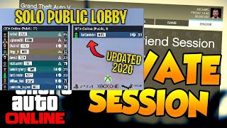 How To create Private Session server in GTA V Online