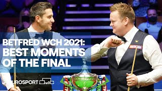 Best moments of the final - Selby v Murphy | Snooker World Championship Sheffield 2021 | Eurosport