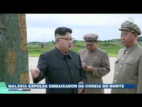 Malásia expulsa embaixador da Coreia do Norte