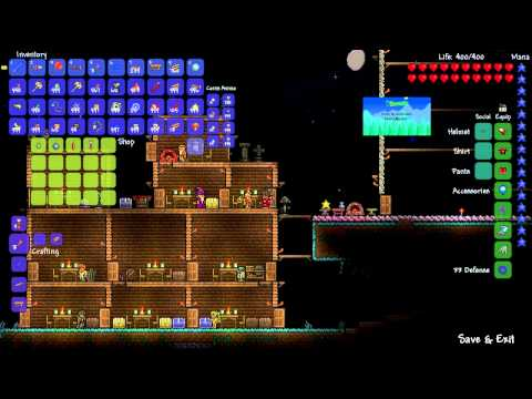 terraria how to make drill