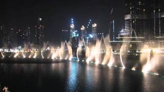 "The Dubai Fountain, Whitney Houston ""I Will Always Love You"" Dezember 2011 HD"