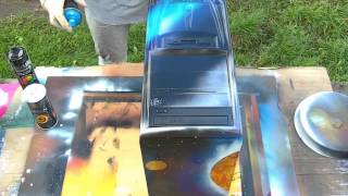 PC Spray Painting