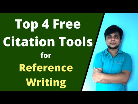 Top 4 Free Citation Tools For Reference Writing | Online Free Citation Tools