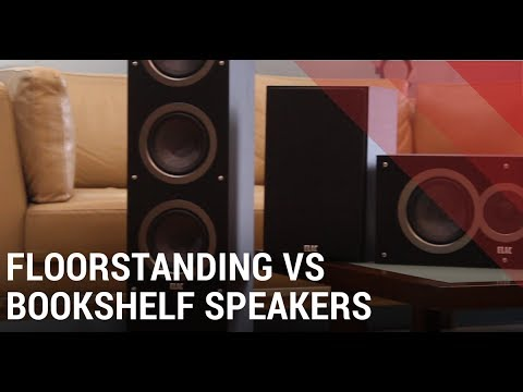 Floorstanding Vs Bookshelf Speakers Which One Should You Get