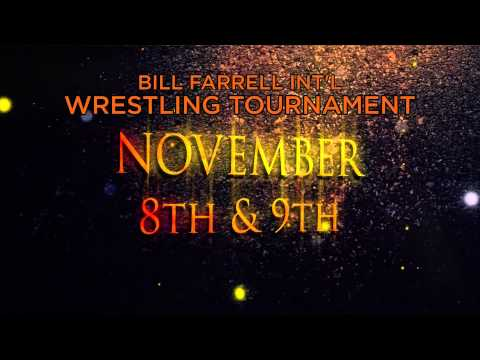 The Bill Farrell Int'l Wrestling Tournament Nov 8th, 9th in New York City