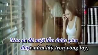 [Karaoke] Một Tình Yêu Đúng Nghĩa - Hồ Quang Hiếu [ OFFICAL MV ]