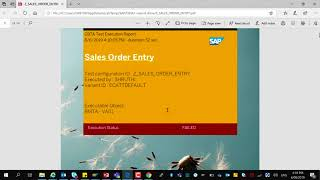 SAP Solution Manager 7.2 Test Execution