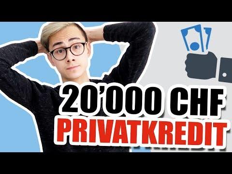 Das Habe Ich Mit Meinem 20'000 CHF Privatkredit Gemacht 💰🧐 |Sparkojote