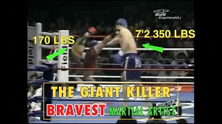 the man who fought giants bravest martial artist in striking history
