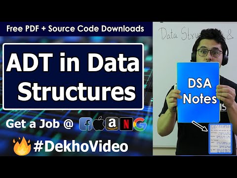 Arrays and Abstract Data Type in Data Structure (With Notes)