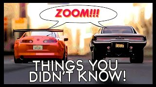 7 Things You (Probably) Didn't Know About The Fast & Furious thumbnail
