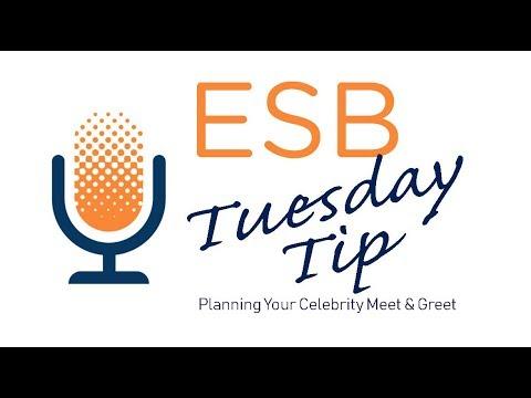 Tuesday Tip   Planning a Celebrity Meet & Greet   Executive