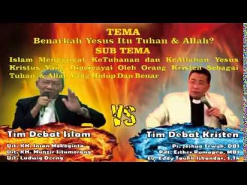 video debat ISLAM vs KRISTEN ''dua duanya gak ada yang mau mengalah''