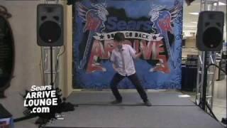 My Sears Arrive Air Band Video: Simon