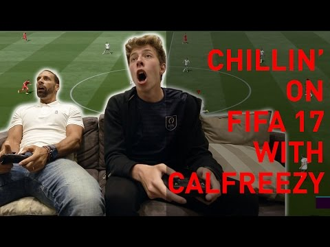 Chillin' on FIFA 17 with Calfreezy!