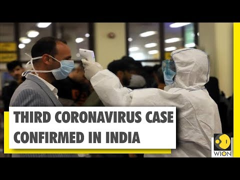 Third Coronavirus case confirmed in India