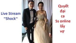Trực tiếp: Nguyên lãng tử hát mừng Quyết đại ca lấy vợ 5S Online