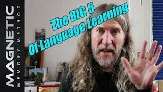 The Big Five Of Language Learning