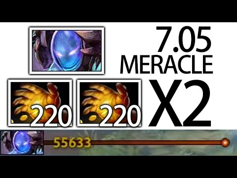 55K Networth Free Midas with Arc Warden 7.05 META Gameplay by Meracle Dota 2