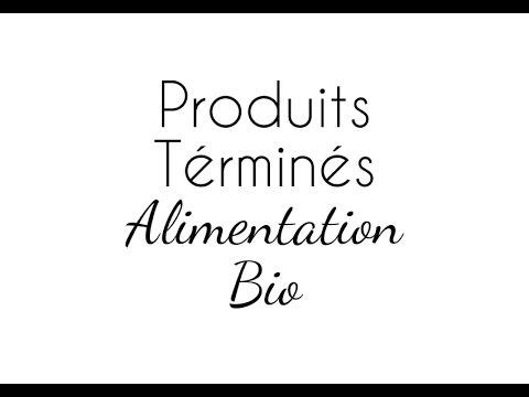 Produits terminés  - Alimentation Bio