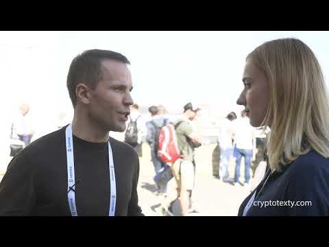 Юрій Дерев'янко про створення блокчейн-економіки в Україні, - інтерв'ю на BlockchainUA