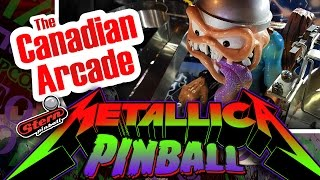 Stern Metallica Pinball PRO Review and Gameplay code version 1.70