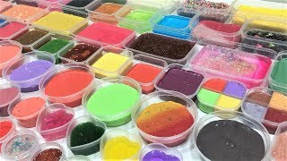 MIXING ALL MY SLIMES!! SLIMESMOOTHIE! SATISFYING SLIME VIDEO PART 80 !