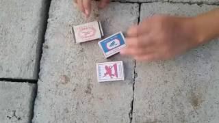 Как сделать дымовую шашку(дымовуху) из спичечного коробка.