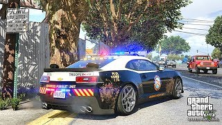 GTA 5 MODS LSPDFR 904 - FHP CAMARO PATROL!!! (GTA 5 REAL LIFE PC MOD) 4K 60FPS
