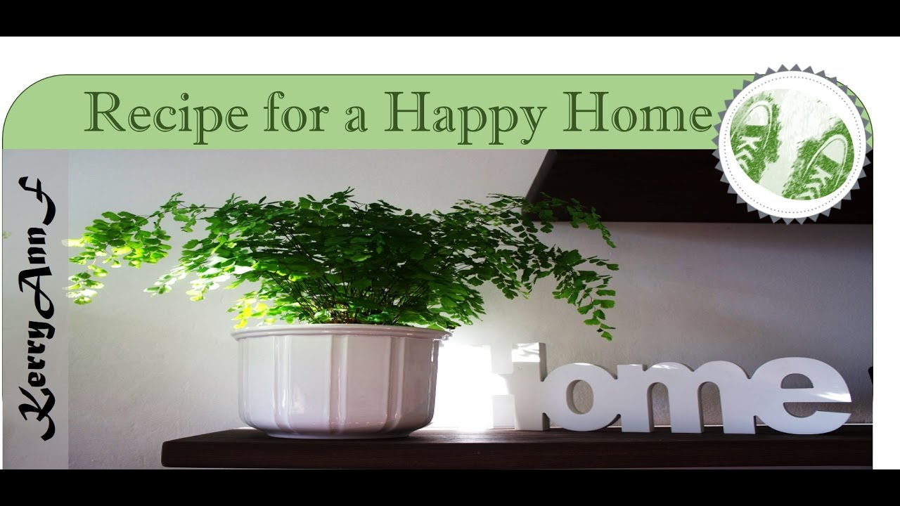 Recipe For A Happy Home Happy Families Youtube