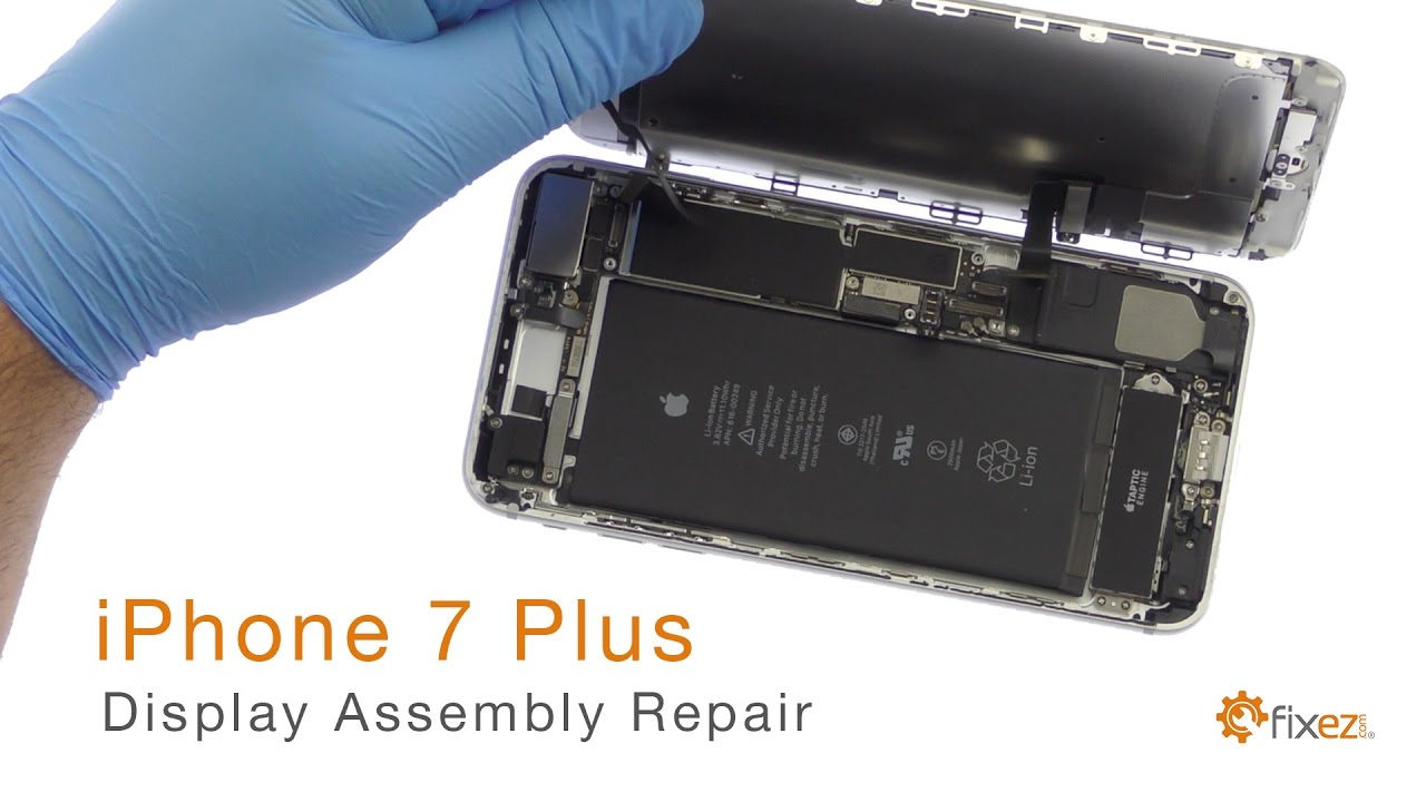 hot sale online 235c1 604e6 iPhone 7 Plus Display Assembly (LCD & Touch Screen) Repair Guide - Fixez.com