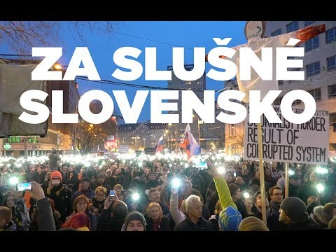 POCHOD ZA SLUŠNÉ SLOVENSKO | 9.3.2018 Bratislava