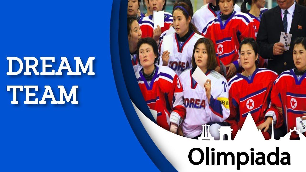 KOREA PÓŁNOCNA zjednoczona z Koreą Południową w hokeju