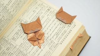 Origami Neko Bookmark (Jo Nakashima) [multi-language]