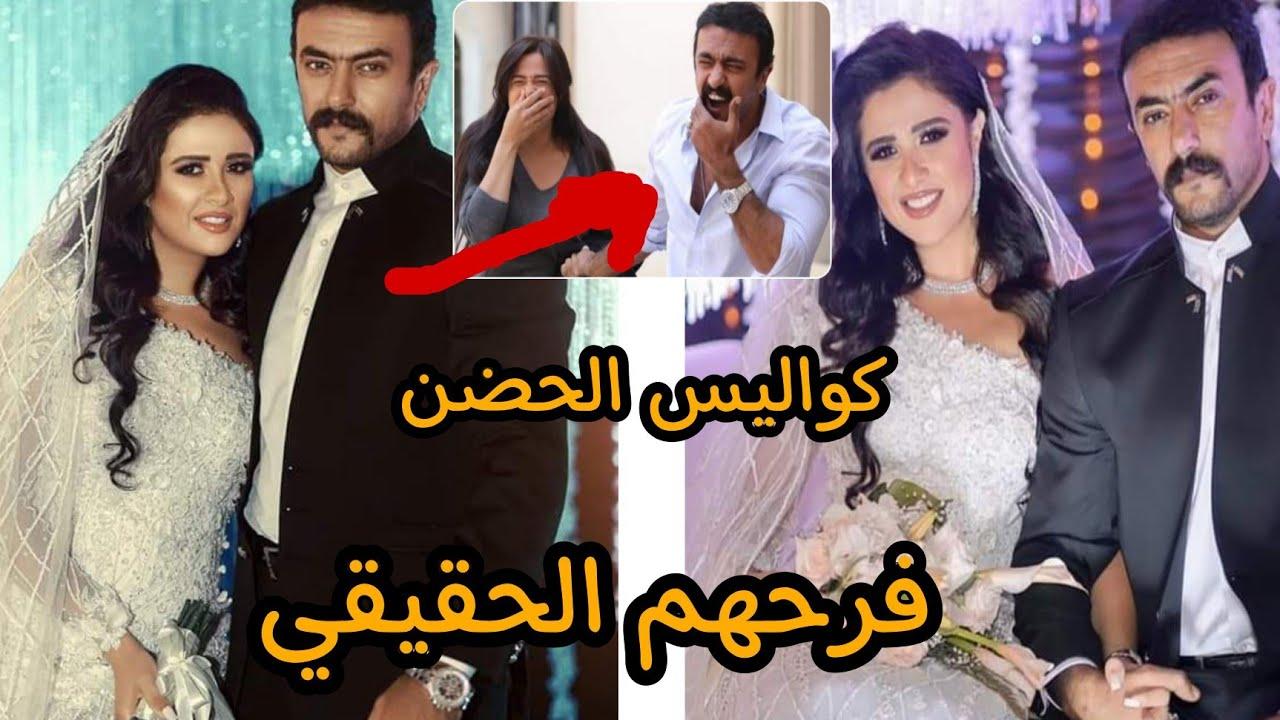 فرح ياسمين عبد العزيز واحمد العوضي الحقيقي ضمن أحداث مسلسل اللي مالوش كبير