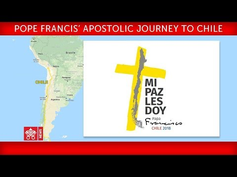 Pope Francis Apostolic Journey to Chile Meeting with Authorities 2018-01-16