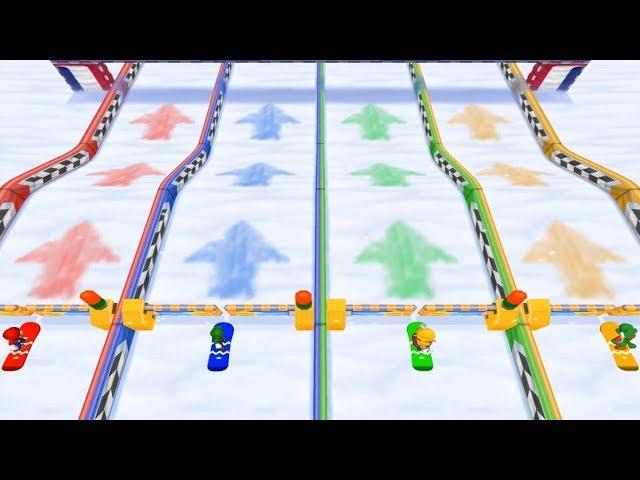 Mario Party 7 - Decathlon Castle (10 Minigames)