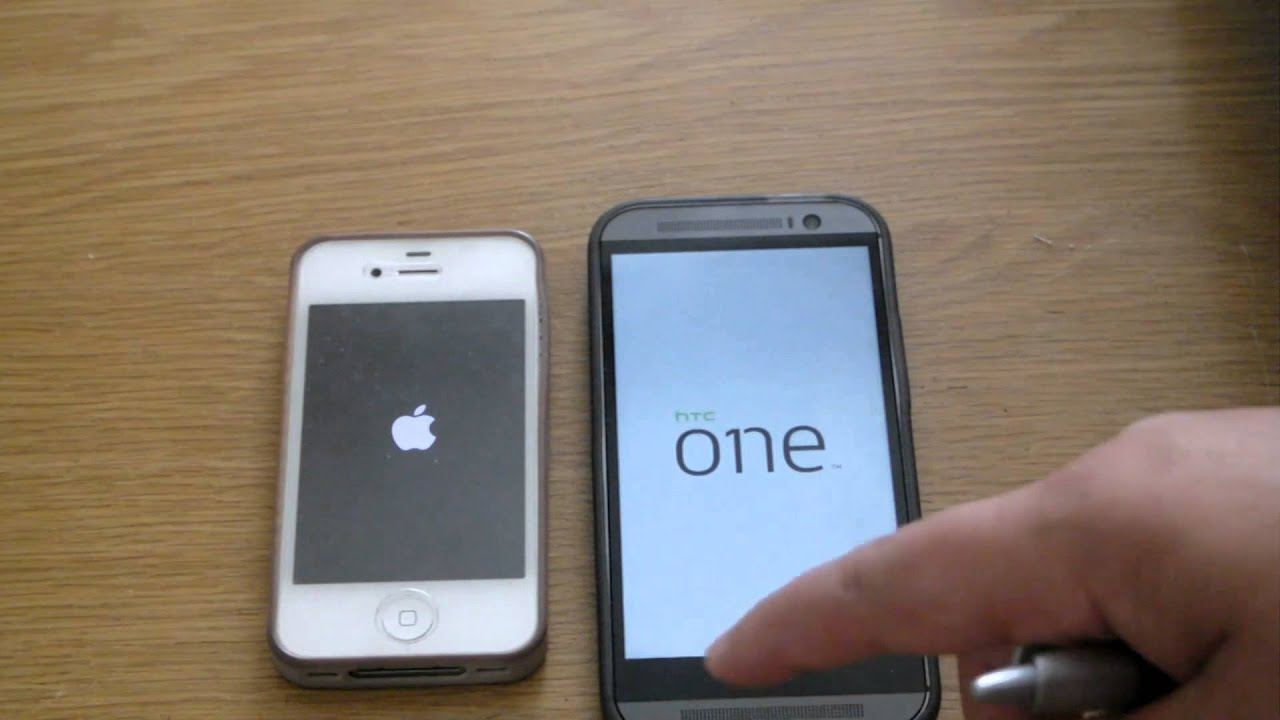 htc one vs iphone 4s