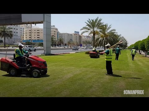 Oman's Green Machine — the unsung heroes who keep Muscat looking fabulous
